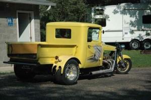 The yellow trike