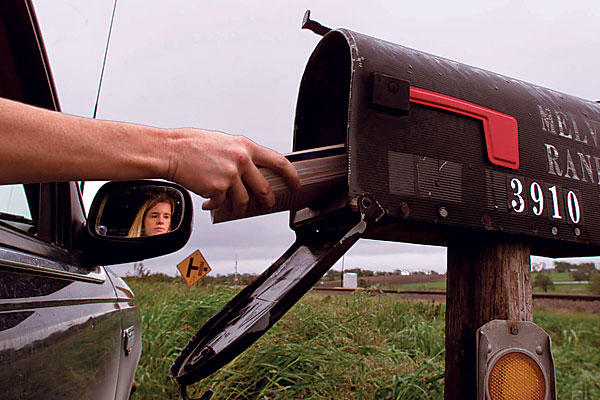 Rural Mail Carrier (Photo from www.csmonitor.com)